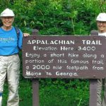 81-Yr Old JMU Twin Alums Complete 2100 Miles of the Appalachian Trail