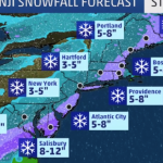 Winter Storm Benji Freezes the South, but Normal Business to the North