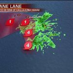 Big Island Takes Another Hit from Hurricane Lane, Category 2