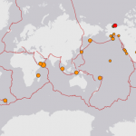 Ring of Fire Shakes : 28 Earthquakes in a single Day