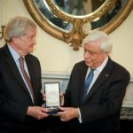 Harvard Professor Dr. Gregory Nagy receives Order of Honor from President of Greece