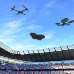Drones Flood the Stadium in Atlanta in Time for the Super Bowl