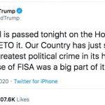 Trump Threatens to Veto FISA
