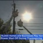 Southern California Might Experience Power Shutoffs During Thanksgiving