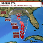 Tropical Storm Eta Already Affecting Weather Although Not Quite Here