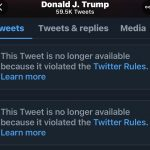"""Trump Locked out of Twitter after """"Proud Boys"""" storm the Capitol"""