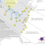 The Annual Solar Eclipse: Partial Solar Eclipse visible on the sky on June 10, 2021