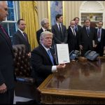 Trump Starts with Trade, Hiring, and Abortion (Global Gag Rule) Issues