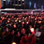 The Candlelight Protesters Celebrate The Success of Park's Impeachment <김광식 교수 현장 르포>