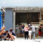 (Breaking News)Possible Terrorists in Van Plow Through Tourists in Barcelona