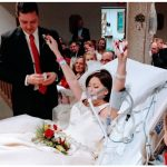 Tearful Wedding Before Woman Battling Cancer Passes Away