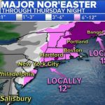Monster Winter Storm Kills 6 Along the Eastern Seaboard US