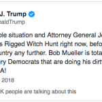 "Trump to Sessions: ""Should Stop the Investigation on Russia Right Now"""