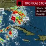 Tropical Storm Gordon Arrives at Gulf of Mexico to become Hurricane Gordon