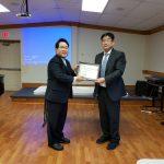 Church Clinic Open Lecture Designates Atty. Sang-Jun Han as its Counselor