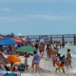 Florida Shuts Down Beach After Massive Beach Crowding