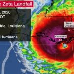Louisiana and Mississippi faces Hurricane Zeta